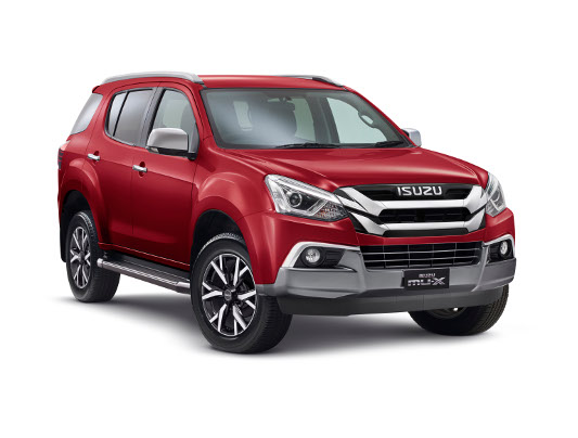 New Isuzu Ute D-Max and MU-X