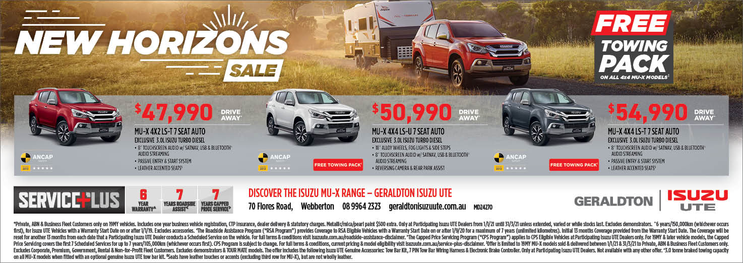 New Isuzu Ute Deals